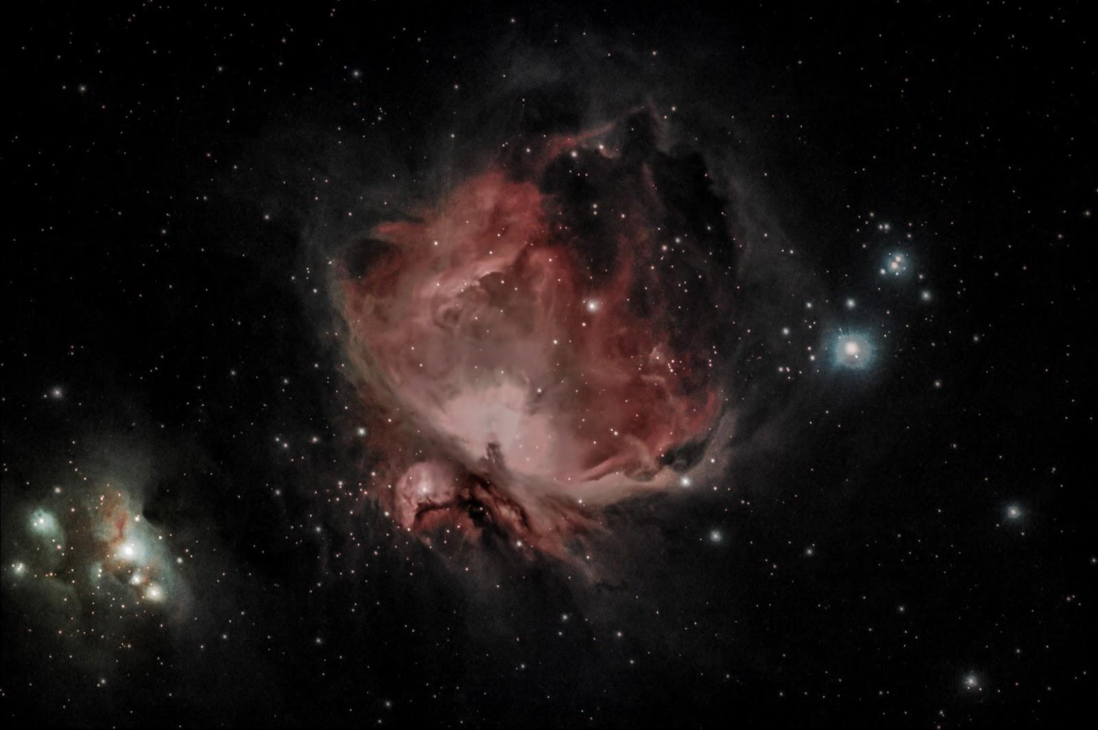 orion nebula naked eye - HD1600×1064