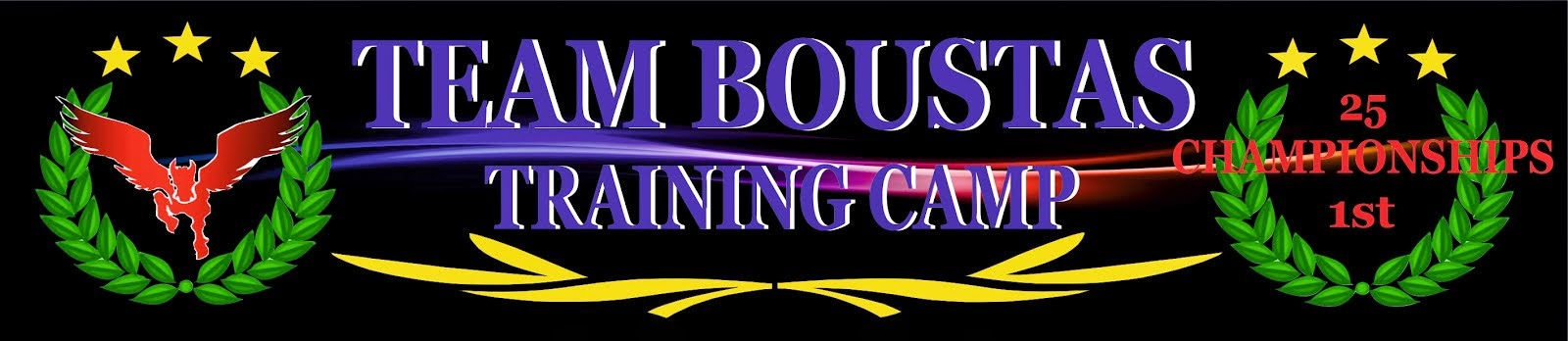 TEAM BOUSTAS TRAINING CAMP