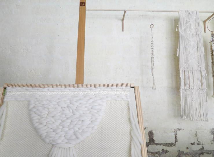 Amandine créatrice macramé de Maison Leone - blog Bordeaux
