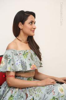 Actress Pragya Jaiswal Stills in Floral Dress at turodu Interview  0130.JPG