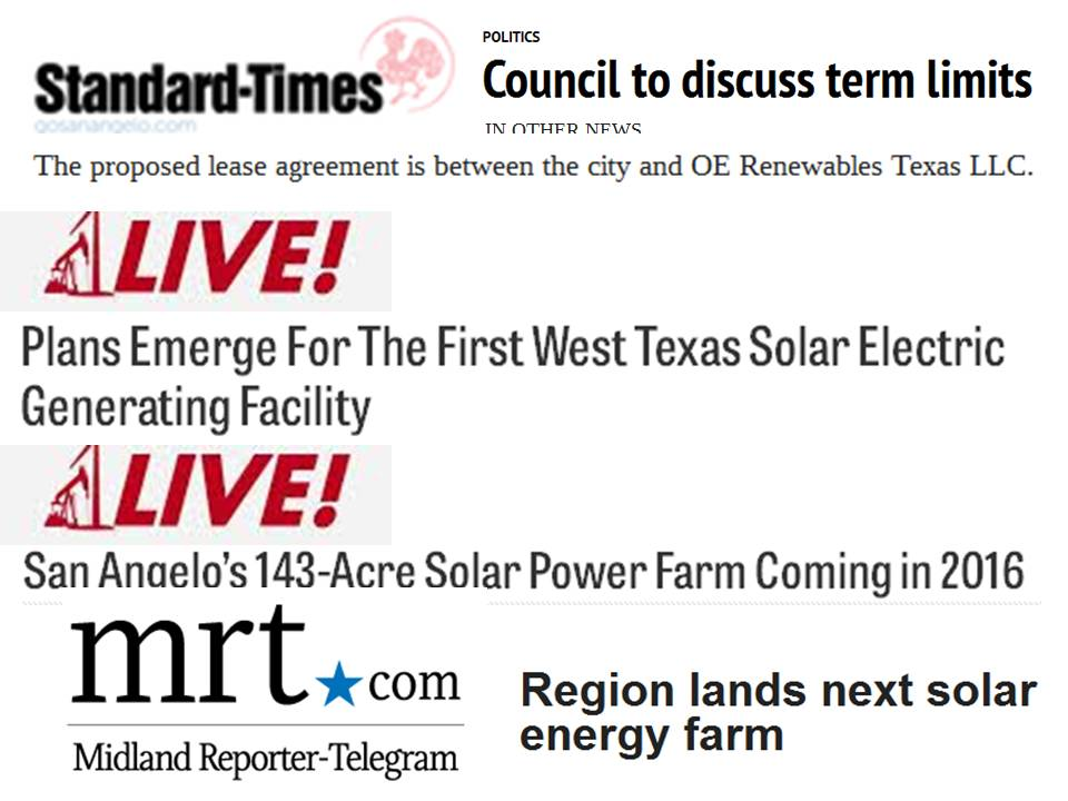State of the Division: OE Renewables Solar Farm Late on Plans