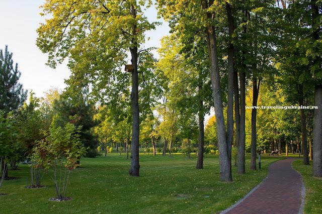 Парк в Межигорье 2015