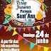 24/06 tem Festa Junina Paróquia Sant'Ana em Laranjeiras do Sul