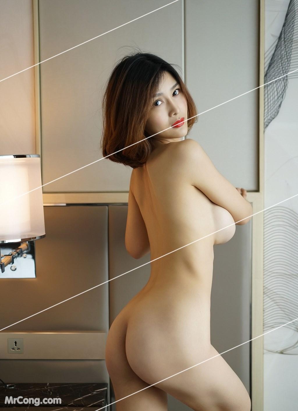 Image Yan-Pan-Pan-Part-3-MrCong.com-032 in post Ngắm vòng một siêu gợi cảm với nội y của người đẹp Yan Pan Pan (闫盼盼) (51 ảnh)