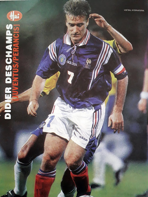 DIDIER DESCHAMPS OF FRANCE 1997