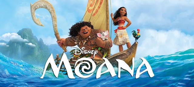 Animação Disney Moana 2017