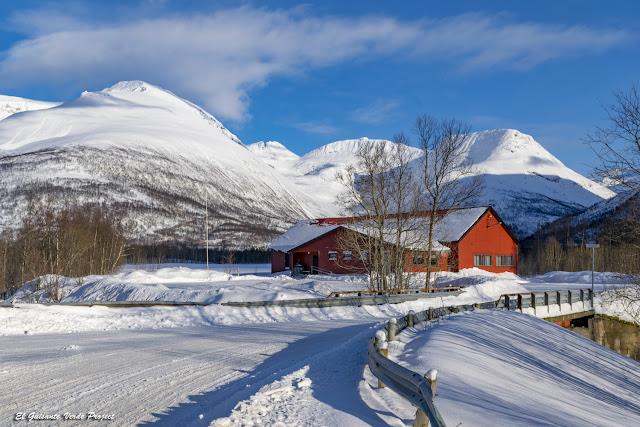 Ruta  por el Balsfjord - Tromso por El Guisante Verde Project