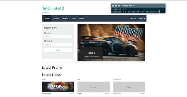 Tutorial Codeigniter : Source Code Website Booking Hotel - Gratis
