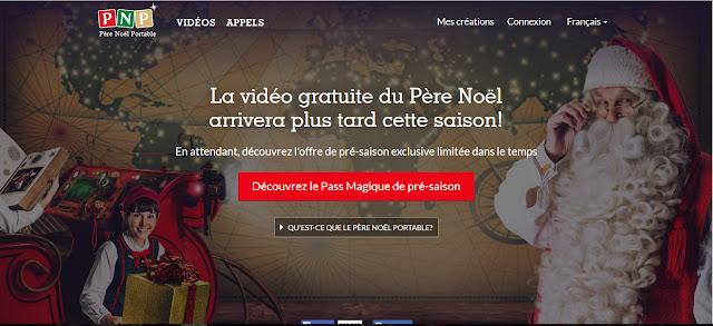 Pere noel portable