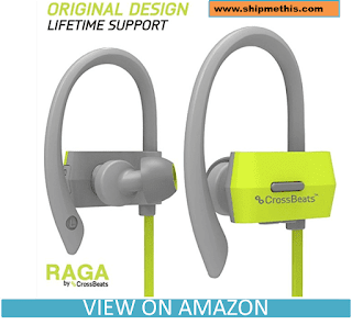 CrossBeatsTM Raga Wireless Bluetooth Headset Headphones - Gray/Green Review