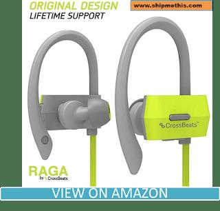 CrossBeatsTM Raga Wireless Bluetooth Headset Headphones - Gray/Green Review