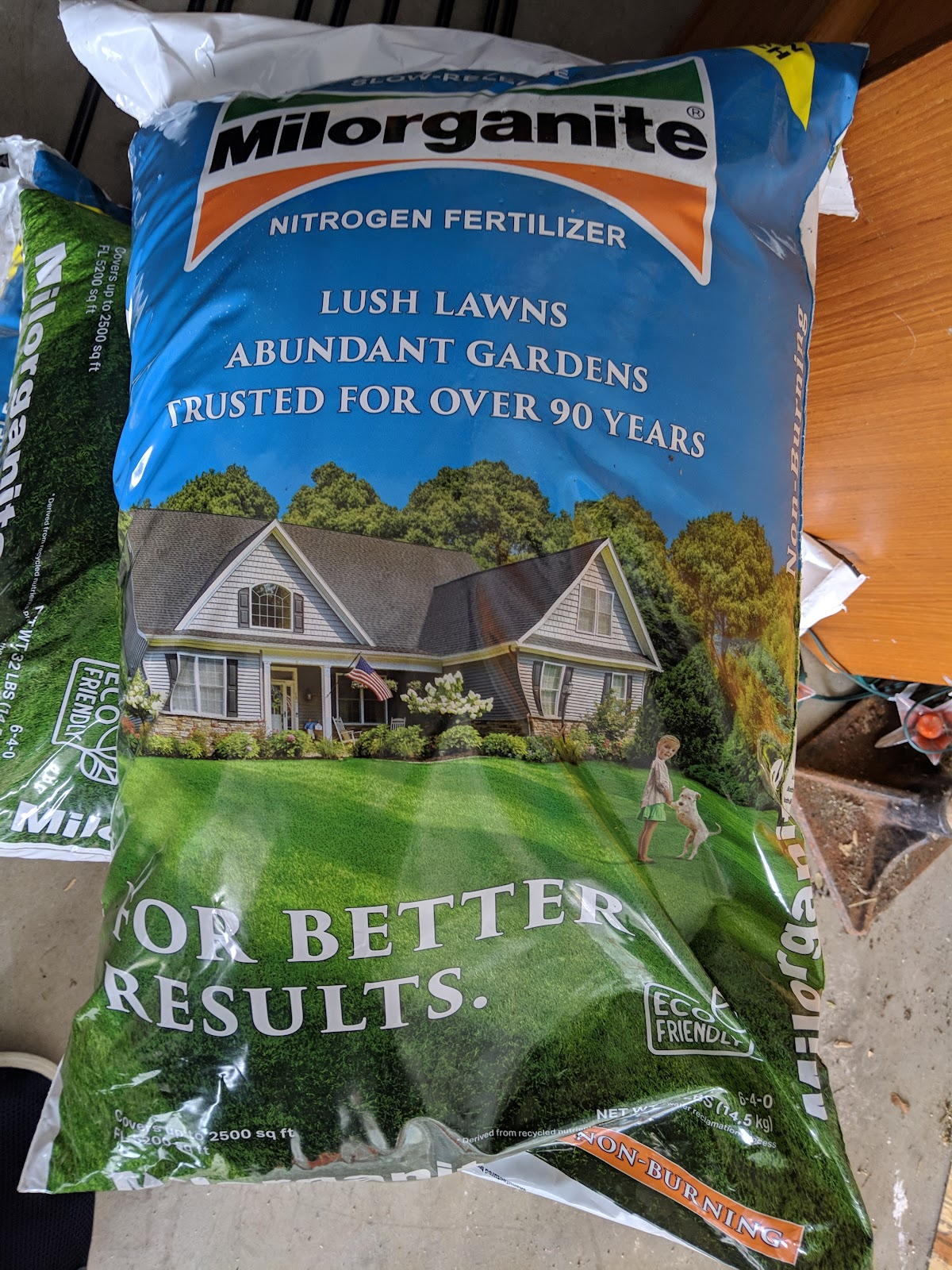 My First Season With Milorganite - Problems Already?