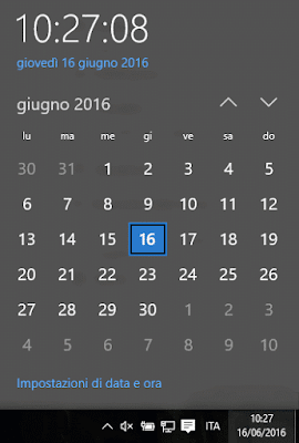 Come aggiustare l'ora del pc di windows 10