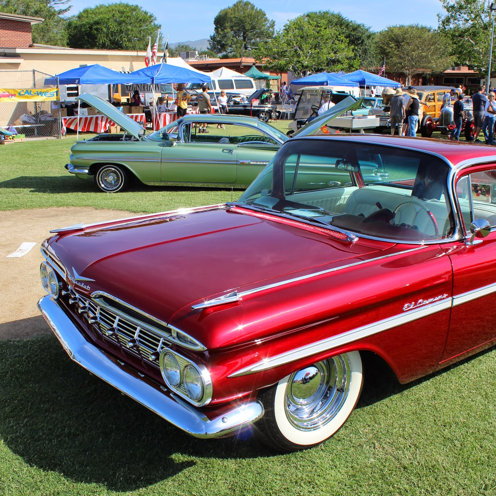 Covering Classic Cars : 32nd Annual Classic Chevys Of