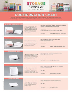 Storage by Stampin' Up! Configuration Charts