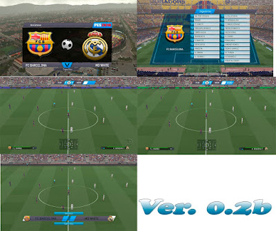 PES 2018 Lite & Simple Scoreboard by CgM2k7