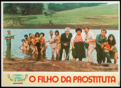 Сын проститутки / O Filho da Prostituta / Aberrações de uma Prostituta. 1981.