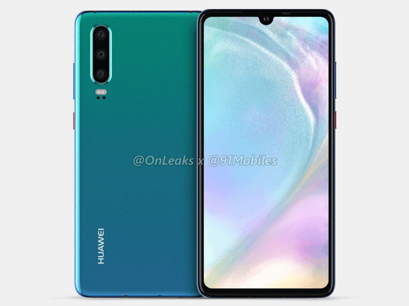Alleged Huawei P30 press renders leaks!
