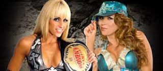 WWE - TLC 2009: Michelle McCool vs. Mickie James