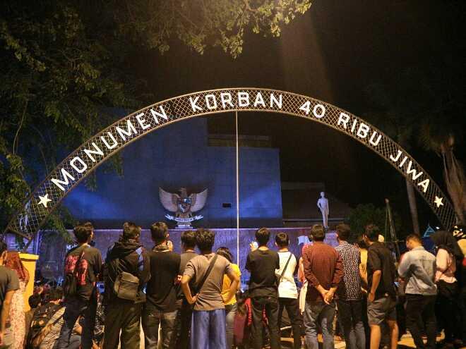 monumen korban 40 ribu jiwa