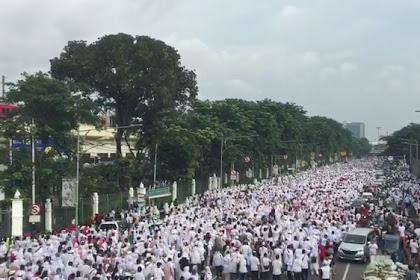 Dihadang Dimana-Mana, Penampakkan Peserta Jalan Sehat Prabowo-Sandi Mencengangkan
