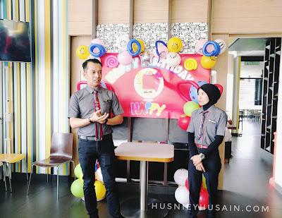Kejayaan Pengurus Besar Restoran McDonald's Meru Raya & Santai Bersama Rakan Blogger