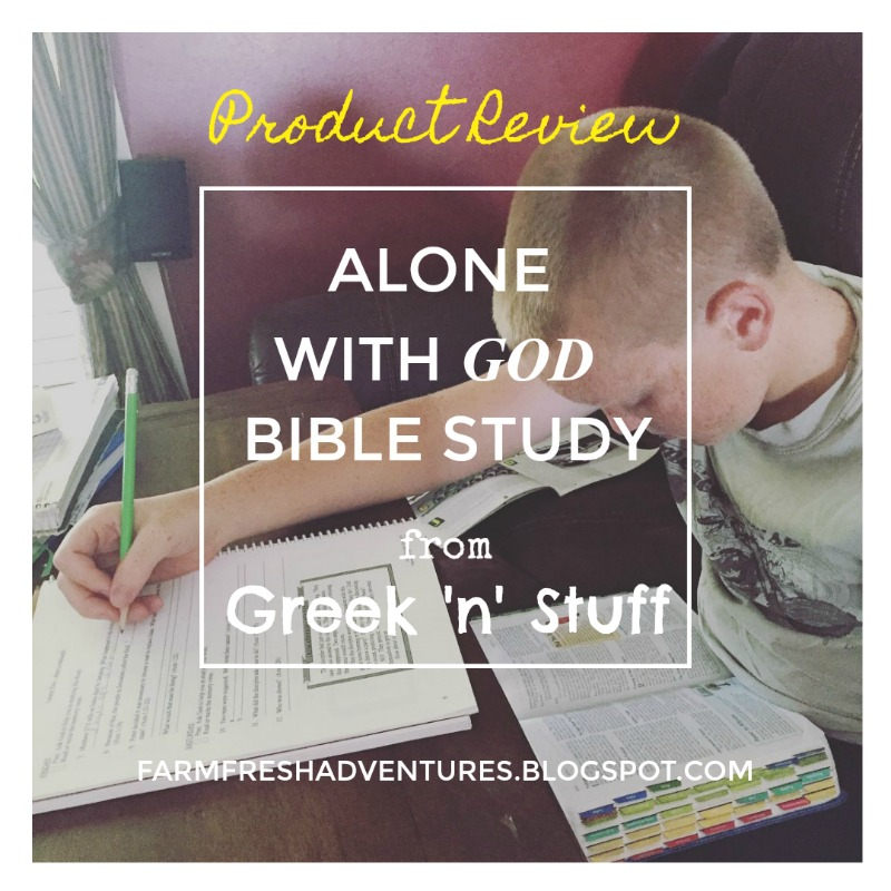 Farm Fresh Adventures: Alone with God Bible Study for Kids {Product