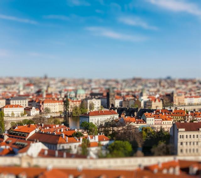 Quang cảnh thủ đô Praga của Cộng hòa Séc