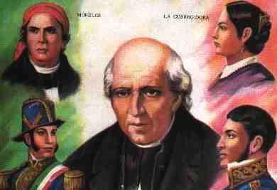 Los Principales Héroes De La Independencia De México Ciclo Escolar