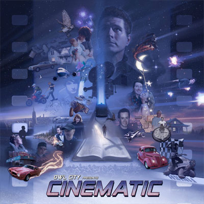 The 10 Worst Album Cover Artworks of 2017: 05. Owl City – Cinematic
