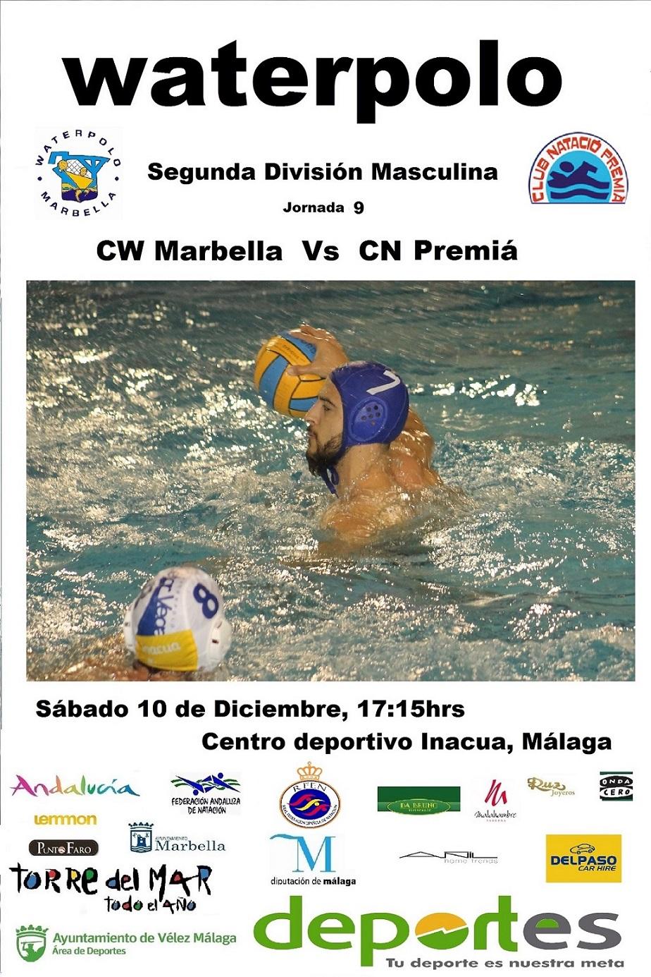 Waterpolo marbella for Piscina municipal premia de mar
