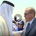 Erdoğan Katar'da böyle karşılandı