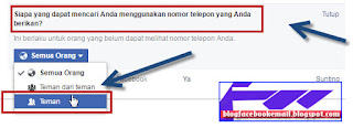 kita tidak muncul di daftar people you may know di facebook android