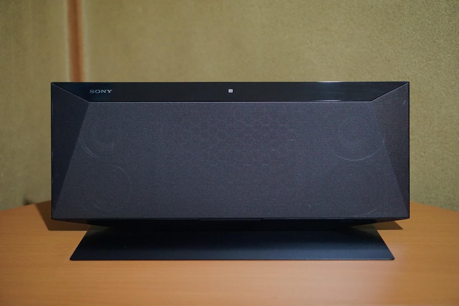 ソニーのマルチコネクトコンポ(CMT-BT60)