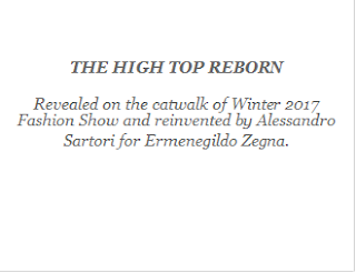 Ermenegildo Zegna : The High Top Reborn