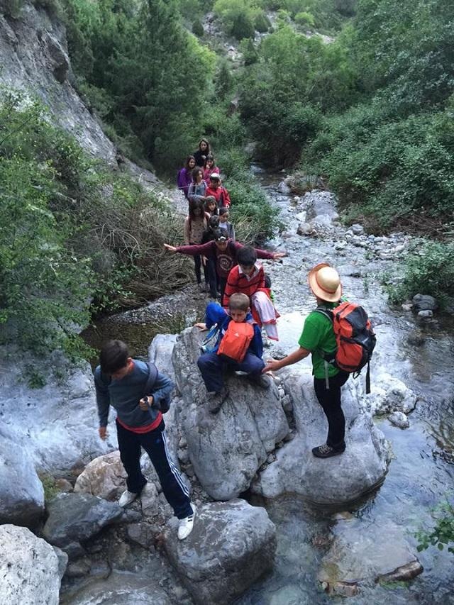 Al nacimiento del río Palancia