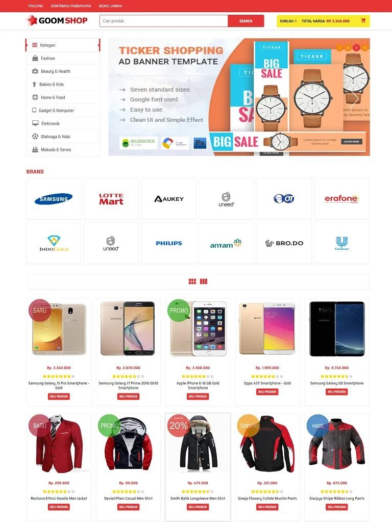 Theme blogspot bán điện thoại di động đơn giản - Ảnh 1