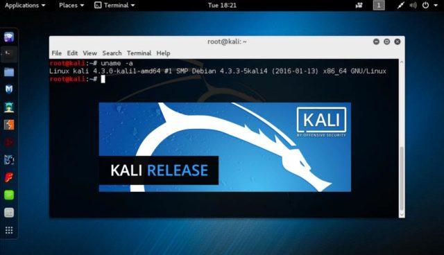 Kali Linux 2017.1 ya fue liberado con nuevas características
