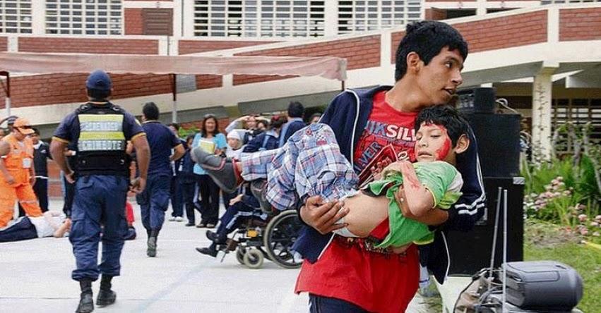 Cerca de 200 colegios de Chimbote están en situación de riesgo ante desastres, informó la UGEL Santa