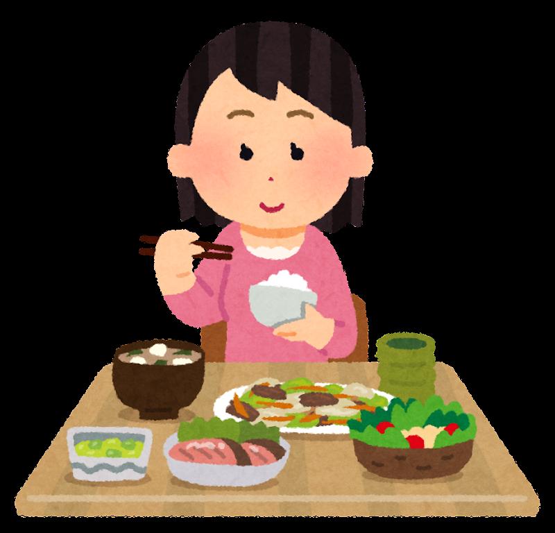 「食事 イラスト」の画像検索結果
