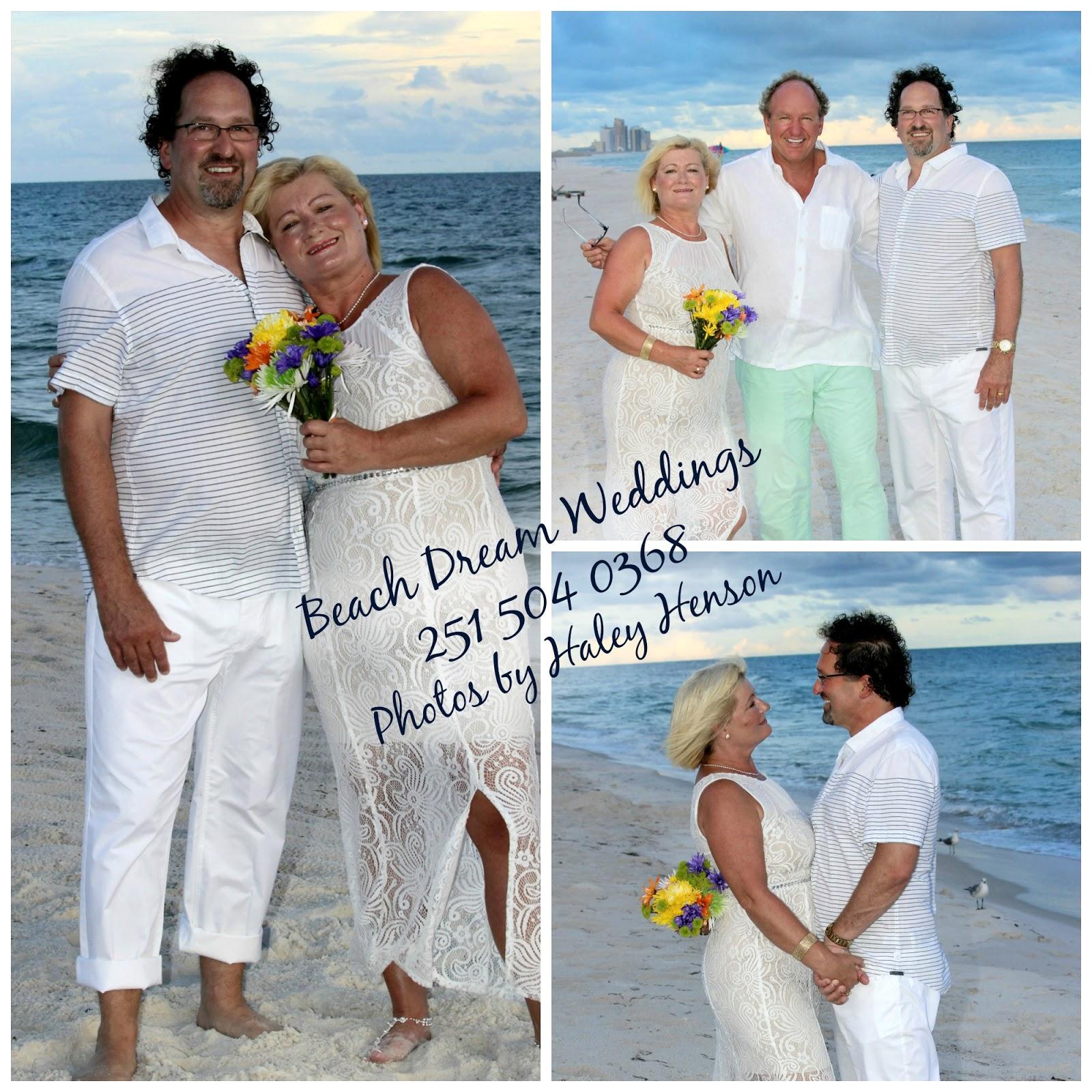 Beach Wedding Of Thad And Yvette In Orange Beach Alabama By Beach Dream Weddings 251 504 0368