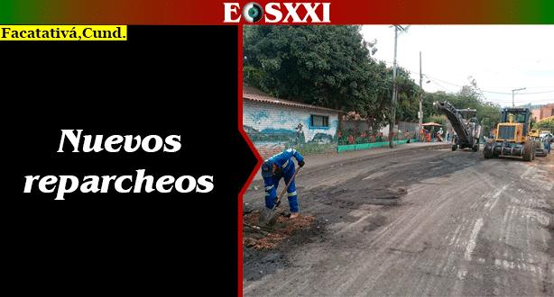 Secretaría de Obras Públicas retoma labores de reparcheo y arreglo de vías en el casco urbano