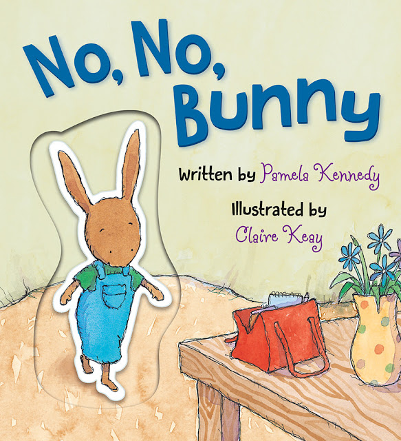 No No Bunny Board Book