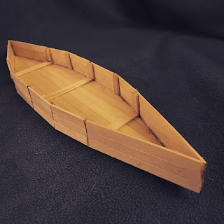 Popsicle Stick Boat