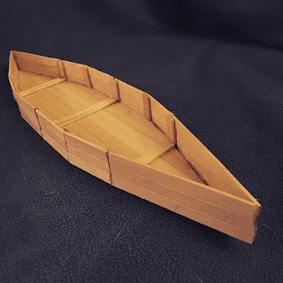 Popsicle Stick Boat