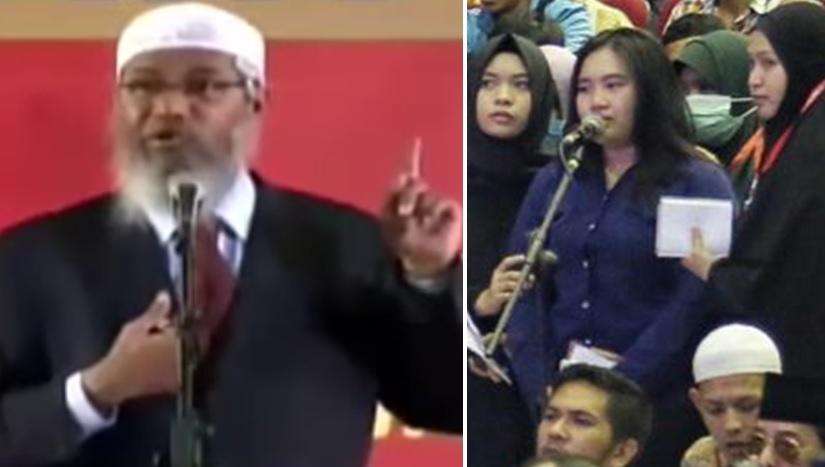 Dr Zakir Naik dan Prisilia Angita