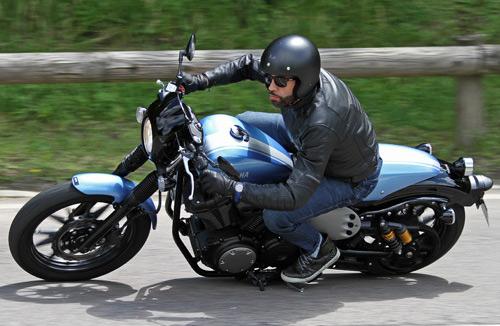 Yamaha XV950 Racer Test