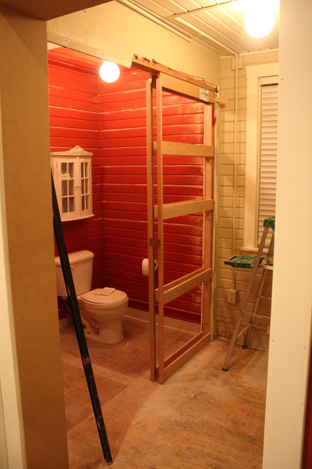 This Old Church House Mudroom Amp Bathroom