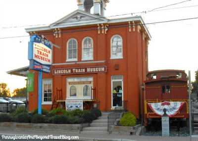 Lincoln Train Museum in Gettysburg Pennsylvania