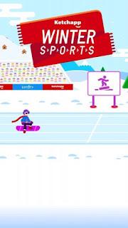 Ketchapp Winter Sports Apk v1.0 (Mod Money)